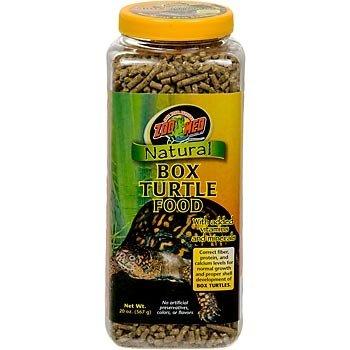 Zoo Med Natural Box Turtle Food  567g, Futterpellets für Dosenschildkröten
