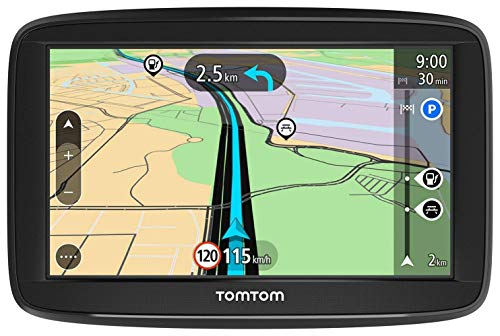 TomTom Navigatore Satellitare per Auto Start 52 Lite, con Mappe Europa, Supporto Reversibile Integrato [Amazon Exclusive], 5 Pollici