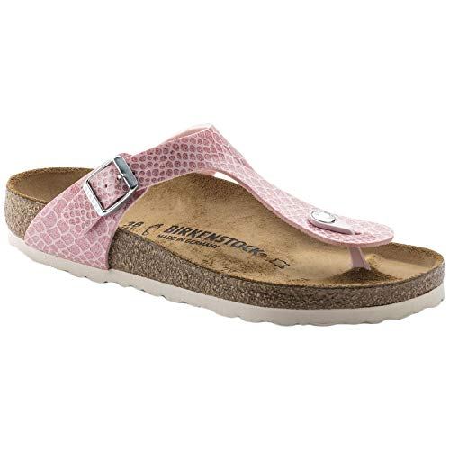 BIRKENSTOCK Gizeh Kids BF Magic Snake Rose, pink, 37 (schmal)