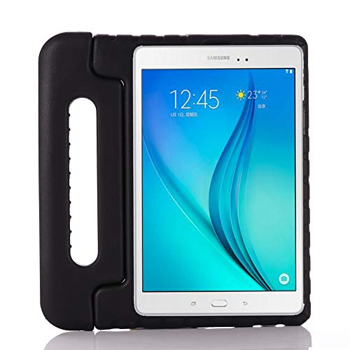 i-original Compatible with Samsung Galaxy Tab A 10.1 2019 Kids Case,Shock Proof Kids Handle Stand EVA Case for Galaxy Tab A 10.1 inch SM-T510/SM-T515 2019,Lightweight Protective Cover(black)