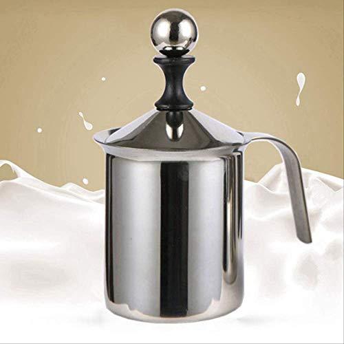Genex Sahnespender Lachgas Milch Frother Cappuccino Edelstahl Milch Milch milchschaum Doppel Mesh Werkzeug 800ml