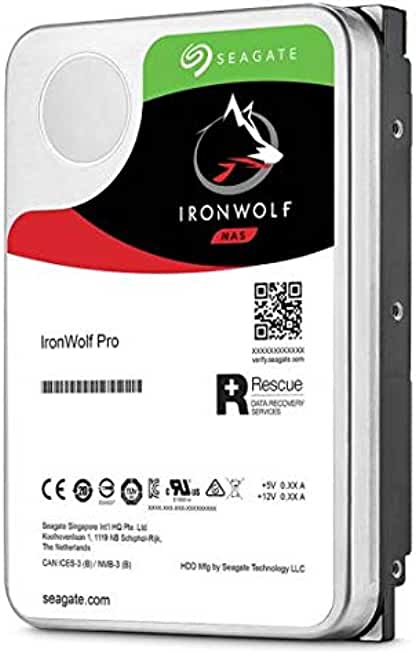"Seagate IronWolf Pro 3.5"" 16TB Internal Hard Drive"
