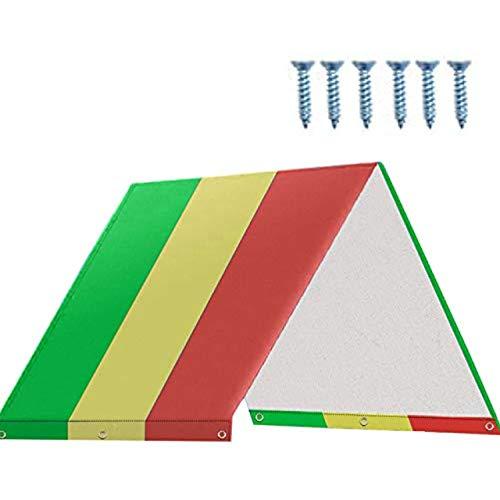 YUEMA Spielturm Abdeckung Dachüberdachung für Kinderspielplatz wasserdichte Ersatz Plane Sonnenschutz für Kinder Outdoor Sunproof Geeignet für Schaukel Rutsche und Kletterwand