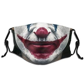 Halloween Joker Face Mask Windproof Anti Reusable Comfortable Breathable Balaclava 1-1 PCS