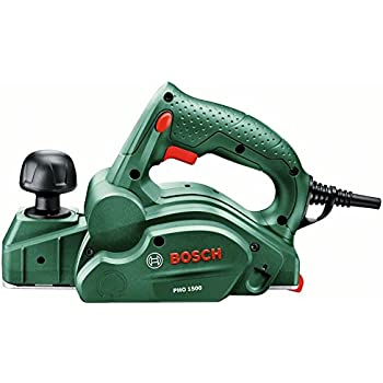 Bosch Elektro Hobelmaschine PHO 1500 (550 Watt, Hobelbreite 82 mm, im Karton)