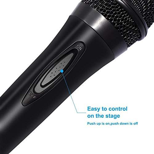 Yiwa karaoke-microfoon met bekabelde microfoon voor PC Nintendo Switch PS4 Wii U XBOX360