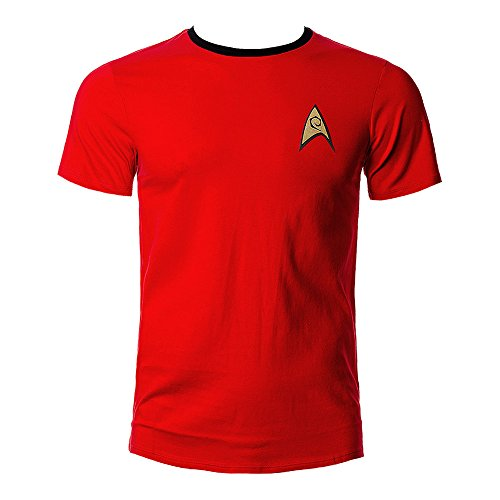 T-shirt Star Trek Uniforme de Scotty - L