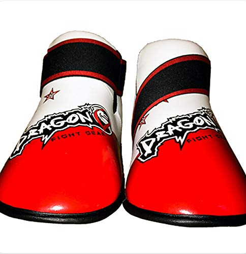 Dragon Do Sparring Shoes Best for Martial Arts, Taekwondo, Karate Foot Gear-Smart Design-Red