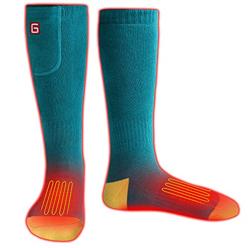 41WXOu5wkDL - 5 Best Heated Socks Reviews - Must have for Cold Weather (Updated [my])