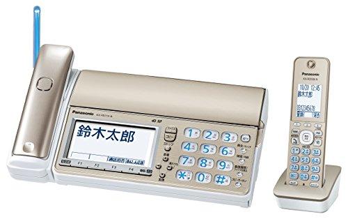パナソニック デジタルコードレス普通紙ファクス 子機1台付き シャンパンゴールド KX-PD715DL-N 1台
