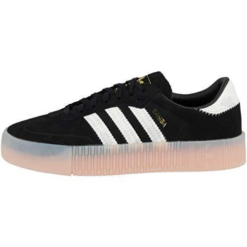 Adidas Schuhe Sambarose W Core Black-Footwear White-Gold Metallic (EE4678) 37 1/3 Schwarz