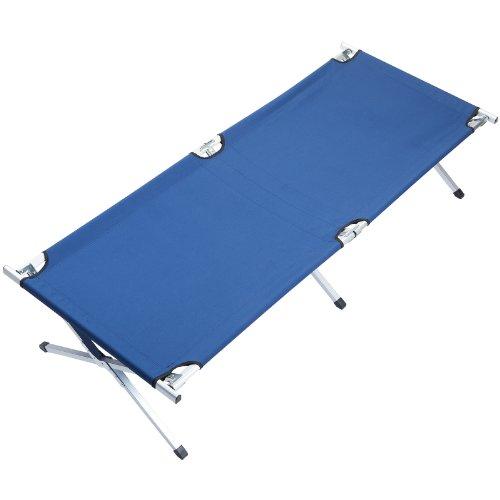 Maxx Laurent Skandika XX Cama portátil para Acampar -, 210x80cm Azul