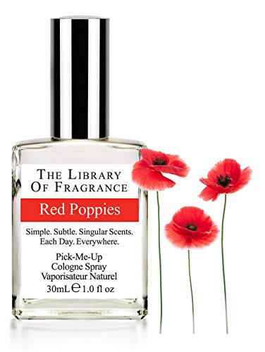 The Library of Fragrance - Pick Me Up - Cologne Spray 30ml - RED POPPIES