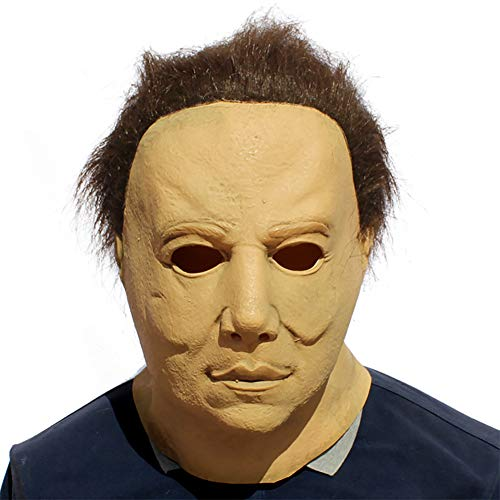 Story of life Halloween Horror Maske Movie Killer Mask Erwachsene Vollkopf-Latexmaske Mit Haaren