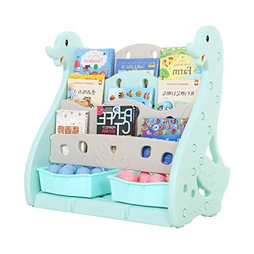 Estanteria Libros Muebles for niños simple librero bebé cisne estantería de almacenamiento en rack libro Kinder del estante de libro de bebé Revistero libro de dibujos animados favorito