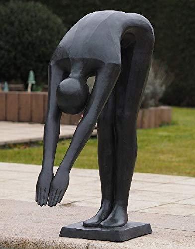 IDYL - Escultura de Mujer en el Borde de la Piscina (Altura: 90 cm)