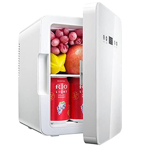 NOVHOME Mini Nevera Portatil, Refrigerador PequeñO de Doble Uso Con Pantalla Digital de RefrigeracióN de Un Solo NúCleo de 6l para Bebidas Cerveza Vino Mariscos Frutas Hogar y Viajes