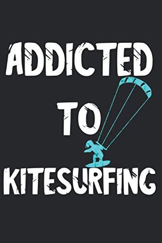 Kitesurfing Kitesurfer Kitesurfen Kiteboarder: Notizbuch A5 Liniert 120 Seiten Cooles Kitesurfen Wassersport Geschenk für Kitesurfer Geschenkidee Notizheft