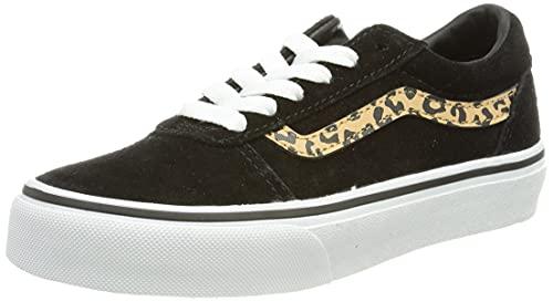 Vans Ward, Zapatillas, (Suede) Black/Cheetah, 37 EU
