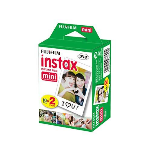 Fujifilm INSTAX Mini Instant Film 2 Pack = 20 Sheets (White) for Fujifilm Mini 8 & Mini 9 Cameras, Model:4332059078