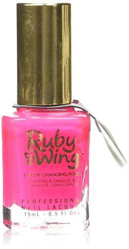 Ruby Wing par énergie solaire Club Vernis à couleur changeante, Groupie 15 ml