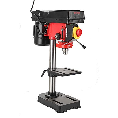 Purchase Bench Drill Press, 350W 5-Speed 50mm Drilling Depth Adjustable Miniature Electric Benchtop ...