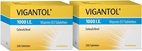 Vigantol 1.000 I.E. Vitamin D3 2 x 200 Tabletten