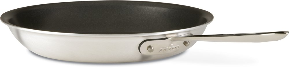 All Clad 7112NSR2 Professional Stainless Nonstick