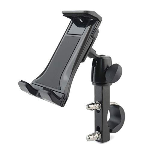 Camisin motocicleta teléfono móvil titular de metal bicicleta teléfono móvil tableta universal titular fitness bicicleta teléfono móvil titular