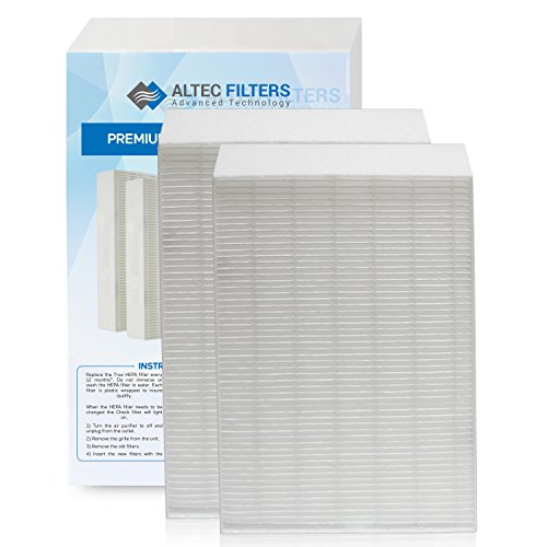 True HEPA Premium Quality Replacement Filters for Honeywell HPA200 Filter R Air Purifier, 2 Pack True HEPA Filters HW HRF-R2 (HRF-R2 2 Pack)