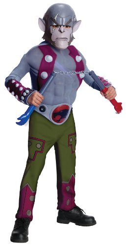ThunderCats Animated Panthro Deluxe Muscle Chest Costume
