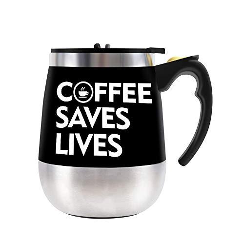 BINE Self Stirring Mug Auto Self Mixing Stainless Steel Cup