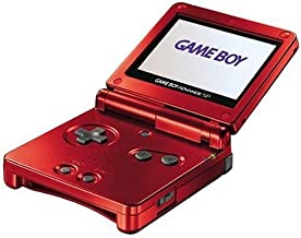 Game-Boy Advance SP - Rouge Flamme