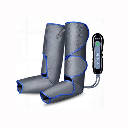 AKOC Leg Massager for Circulation and Relaxation, Calf Feet Thigh Massage, Sequential Wraps Device with 2 Modes 3 Intensities, Helps to Relax Legs, Best Gifts for Family