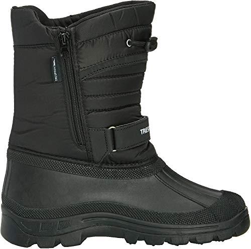Trespass Dodo, Unisex-Kinder Chelsea Boots, Schwarz (Black), 44