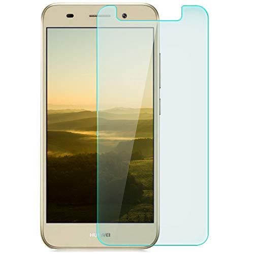 Preisvergleich Produktbild zanasta Displayschutz Folie kompatibel mit Huawei Huawei Y3 (2017) Displayschutzfolie aus gehärtetem Glas Schutzglas Glasfolie Schutzfolie / HD Klar Transparent