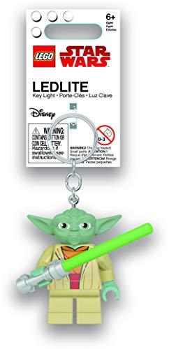 IQ-Spiele Lego Star Wars – Yoda con linterna LED Key Chain Flashlight