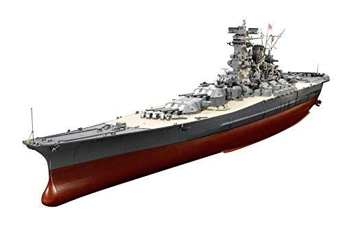 Tamiya 300078025 Yamato - Maqueta (1:350), diseño de Buque de Guerra japonés de la Segunda Guerra Mundial