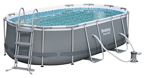 Bestway 56620 Piscina Power Steel Oval, M