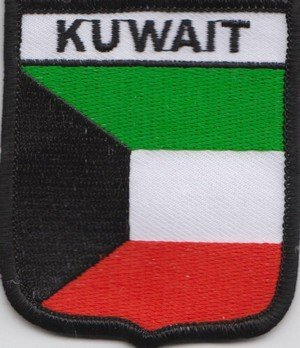 Kuwait Flagge Bestickt Patch Badge