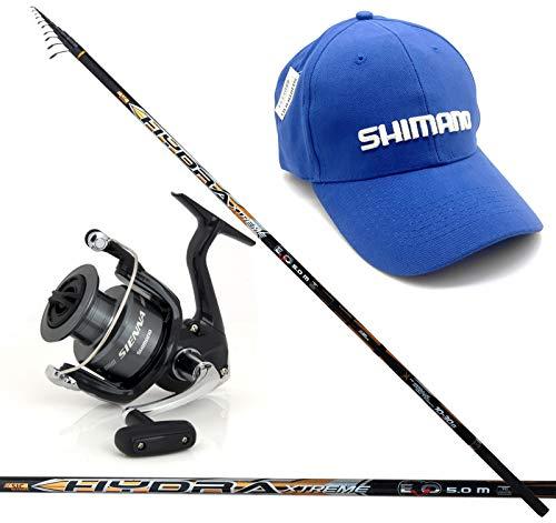 Evo Fishing Hydra Extreme BOLO 7 MT + Mulinello Shimano Sienna 2500 Fe + Cappellino Shimano Ricamato in Omaggio