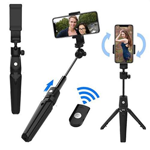 Telefoon Statief Selfie Stick Lichtgewicht Draagbare Camera Statief Smartphone Houder Bluetooth Afstandsbediening Shutter Compatibel voor iPhone&Android