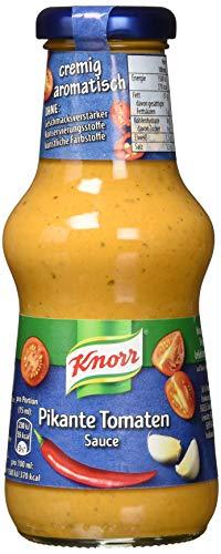 Knorr Grillsauce Pikante Tomaten Soße 250 ml (6 x 250 ml)