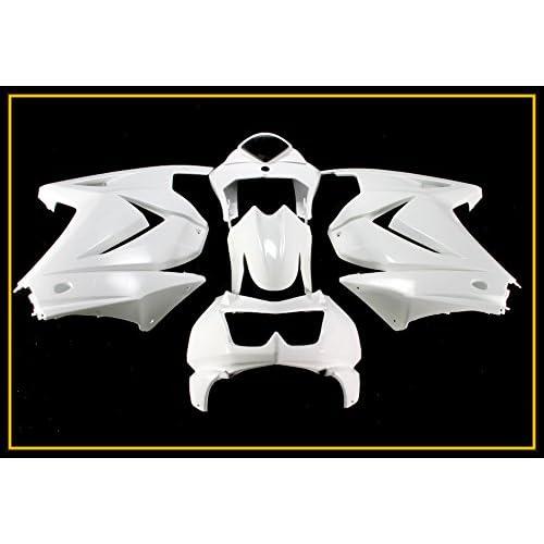 Protek Unpainted ABS Plastic Injection Mold Full Fairings Set Bodywork Cowl for 2008 2009 2010 2011
