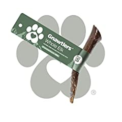 """USA ELK ANTLERS FOR DOGS SMALL is sized for Dogs 5-20lbs, such as a Yorkshire Terrier, Dachshunds, and Shih Tzus. The length of the Small Gnawtler elk antler is 4"""". The small natural dog bones is a good choice for dog toys for aggressive chewers for ..."""