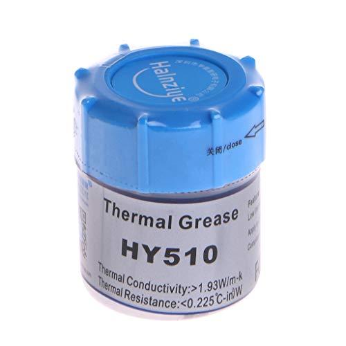 BIlinli 10G HY510 Wärmeleitpaste Silikon CPU Kühlkörper Kühlpaste Grau