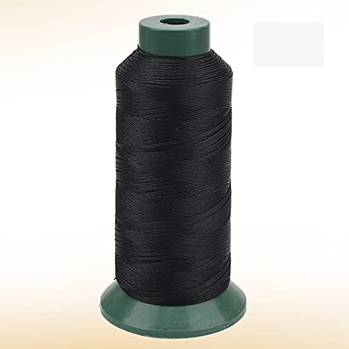JKGHK Hilos De Coser Hilo De Poliéster para Coser Y Tejer, Adecuado para Coser Ropa, Hay 10 Colores para Elegir,Negro