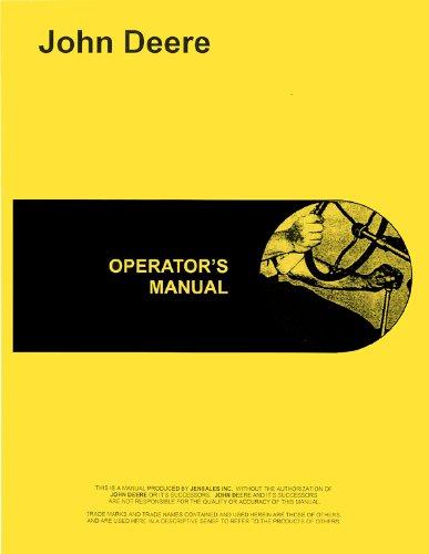 John Deere 2630 Tractor Operators Manual