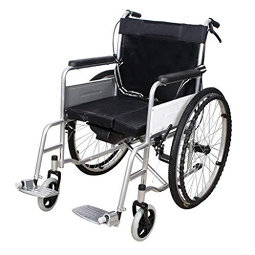 Ocye handmatig inklappen van rolstoelransport met voetrempedalen. 24 inch grote universele fiets. wieltjes van 20,3 cm (8 inch). Lichtgewicht rolstoel met 18