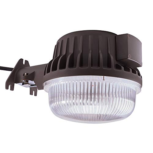 Bobcat LED Area Light 60 Watts Dusk to Dawn Photocell Included, 5000K Daylight, 6600LM, Perfect Yard Light or Barn Light, UL Listed & DLC, 550W Incandescent or 150W HID Equivalent, 5-Year Warranty